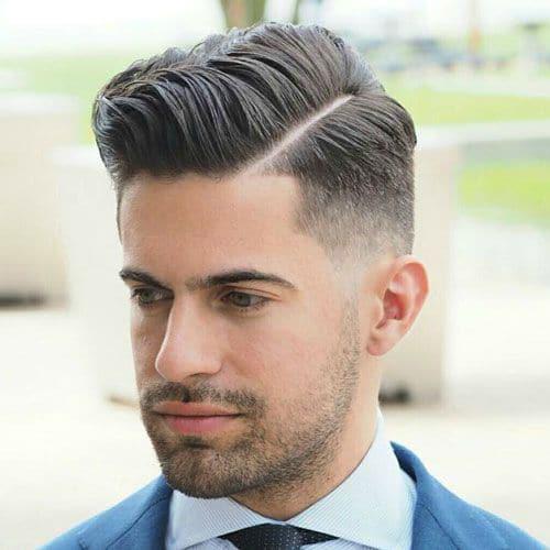 tóc nam âu mỹ