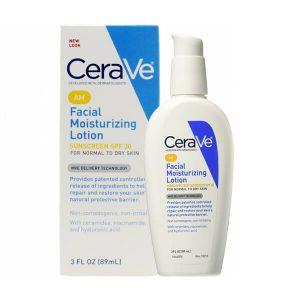 Kem dưỡng da Cerave Facial Moisturizing Lotion AM SPF30