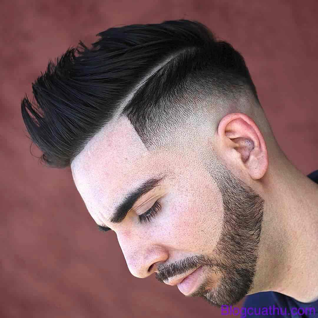 Kiểu tóc Side Part