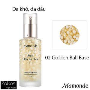 Kem lót bắt sáng Mamonde Aqua Glow Ball Base