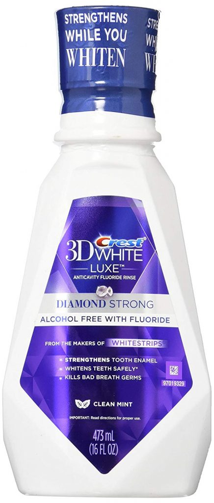 Crest 3D White Diamond Strong
