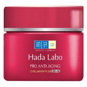 Kem Dưỡng Chuyên Biệt Chống Lão Hóa Hada Labo Pro Anti Aging Collagen Plus Cream