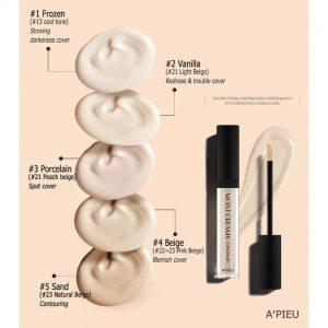 Kem che khuyết điểm A'PIEU Moist Creamy Concealer