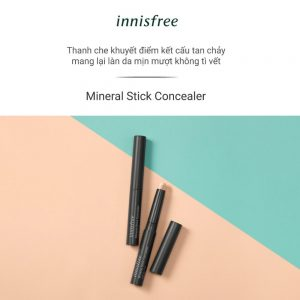 Kem che khuyết điểm dạng thỏi innisfree Mineral Stick Concealer 2g