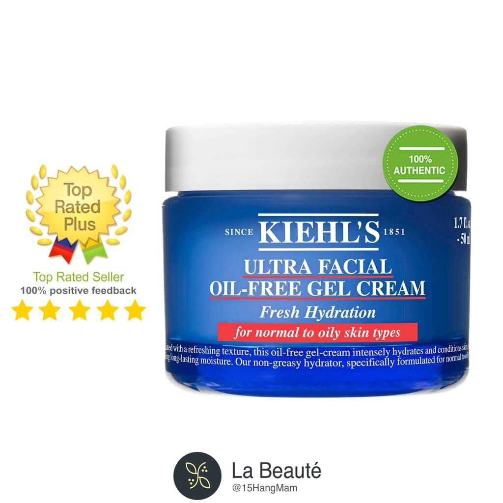 Kem Dưỡng Ẩm Kiehl's Ultra Facial Oil-Free Gel Cream