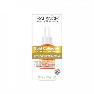 Huyết Thanh Căng Bóng Làn Da, Chống Lão Hóa Balance Active Formula Gold Collagen Rejuvenating Serum