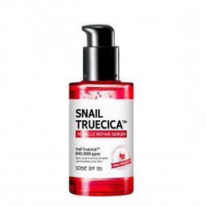 Tinh Chất Phục Hồi Da, Làm Mờ Vết Thâm, Se Khít Lỗ Chân Lông Some By Mi Snail Truecica Miracle Repair Serum 50ml