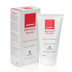 Gel Rửa Mặt Không Chứa Xà Phòng Papulex Soap Free Cleansing Gel 150ml