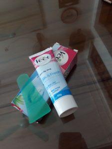 Kem Tẩy Lông Dành Cho Da Nhạy Cảm VEET Silk & Fresh Sensitive