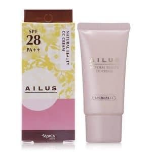 Kem Nền CC Naris Ailus Natural Beauty SPF28/PA++