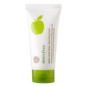 Sữa Rửa Mặt Từ Hạt Táo Innisfree Apple Seed Deep Cleansing Foam 150ml