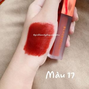 Black Rouge A17 - Bolivian Pomegranate – đỏ lạnh