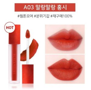 Black Rouge A03 – Soft Red: Đỏ cam