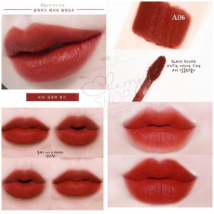 Black Rouge A06 – Brick Red: đỏ gạch