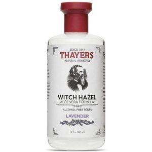 Nước Hoa Hồng Dành Cho Da Dầu Thayers Witch Hazel Lavender 355ml