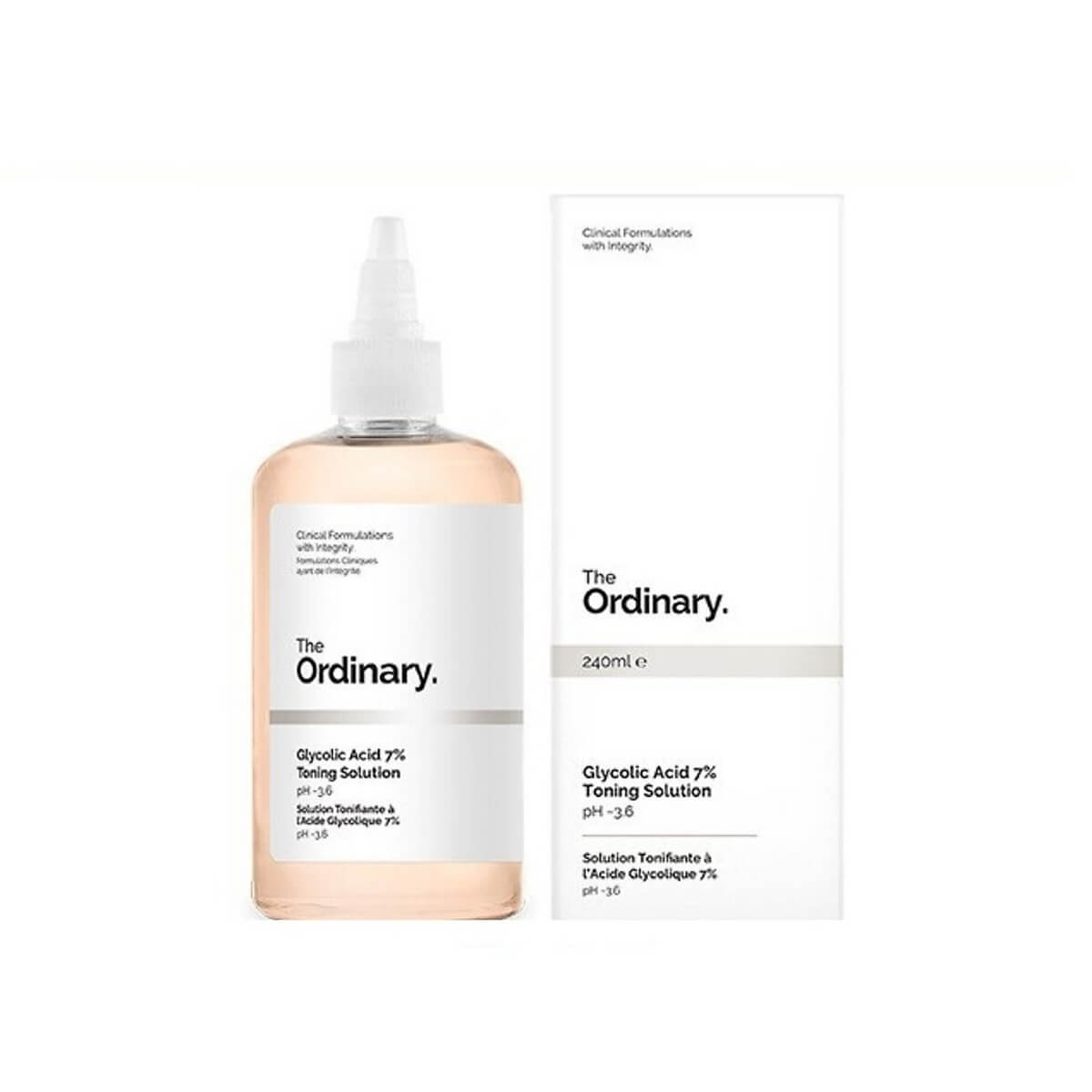 Nước Hoa Hồng Tẩy Da Chết AHA The Ordinary Glycolic Acid 7% Toning Solution