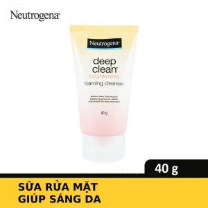 Sữa Rửa Mặt Giúp Sáng Da Neutrogena Deep Clean Brightening Foaming Cleanser 40g