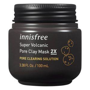 Mặt Nạ Chăm Sóc Lỗ Chân Lông Innisfree Super Volcanic Pore Clay Mask