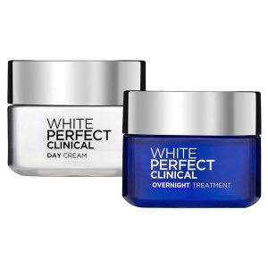 Kem dưỡng da Loreal White Perfect Clinical Day SPF PA 19+++ & Night