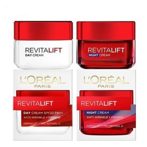 Kem Dưỡng Da Loreal Revitalift Day SPF PA23+++ & Night Cream