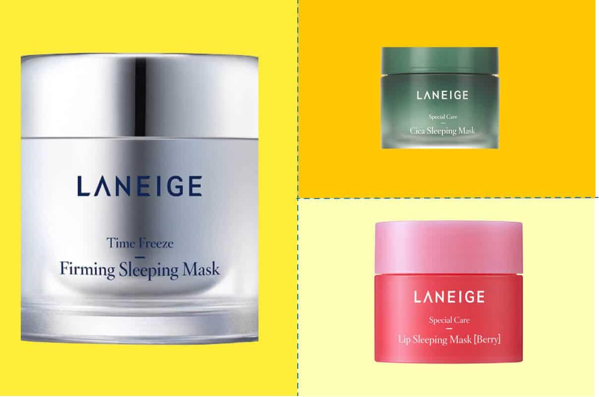 Top 5 mặt nạ ngủ Laneige bán chạy nhất hiện nay