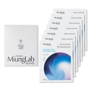 Miung Lab Moisturizing & Brightening Biocell Mask Sheet