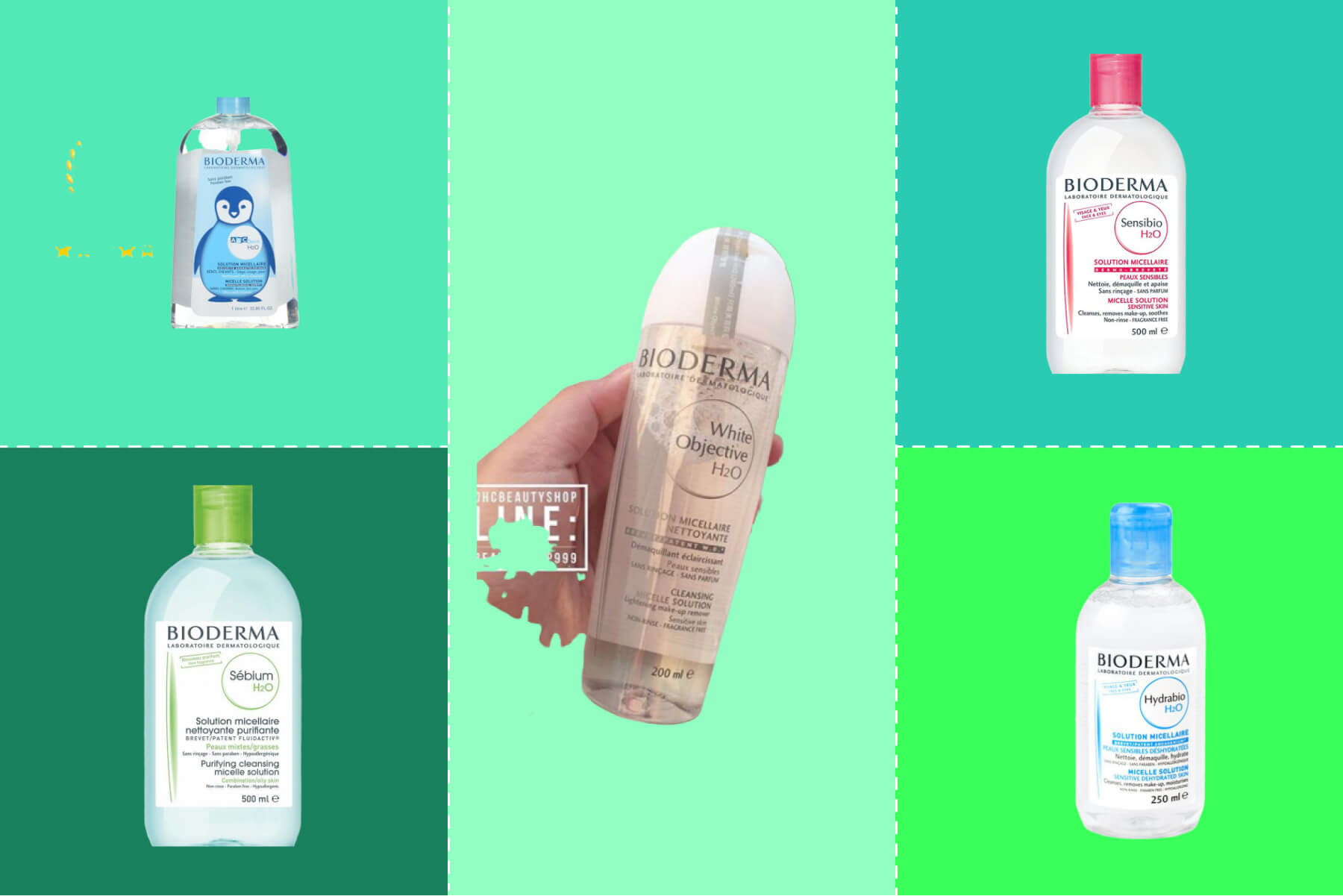 Top 5 nước tẩy trang Bioderma chất lượng hàng đầu dành cho bạn