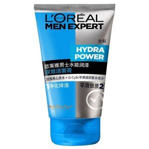 Sữa rửa mặt dành cho nam Loreal Men Expert Hydra Power