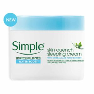 Water Boost Skin Quench Sleeping Cream