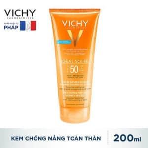 Kem Chống Nắng Toàn Thân Dạng Gel, Không Trôi Không Nhờn Rít Vichy Ideal Soleil Ultra-Melting Mik Gel SPF 50 PA+++