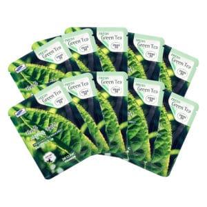 Mặt Nạ Trà Xanh Dưỡng Da 3w Clinic Fresh Green Tea Mask