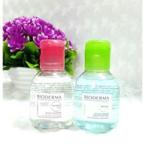 Nước hoa hồng Bioderma Sensibio tẩy trang dành cho da nhạy cảm