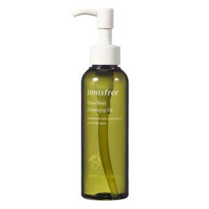 Nước Tẩy Trang Dưỡng Ẩm Innisfree Olive Real Cleansing Oil Từ Olive dạng dầu