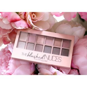 The Blushed Maybelline New York tông hồng Nude 12 màu