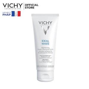 Sữa Rửa Mặt Tạo Bọt Dưỡng Trắng Da Vichy Ideal White Brightening Deep Cleansing Foam