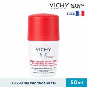 Lăn khử mùi Vichy 72H nắp đỏ