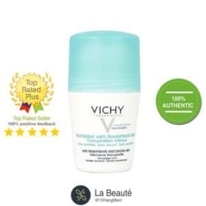 Vichy Traitement Anti - Transpirant 48h màu xanh