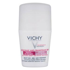 Vichy DeoBeaute Anti-Transpirant 48h nắp trắng chữ hồng