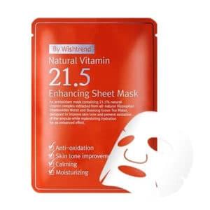 Mặt nạ trị thâm mụn Ost Natural Vitamin 21.5 Enhancing Sheet.
