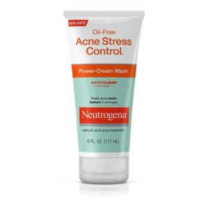 Sữa Rửa Mặt Neutrogena Oil Free Acne Stress Control Power Cream – 100% Authentic
