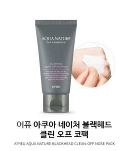 Kem lột mụn đầu đen A'Pieu Aqua Nature Blackhead Clean-Off Nose Pack