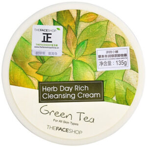 Kem tẩy trang Herb Day Cleansing Cream – Green Tea