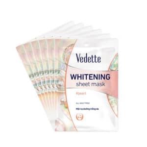 Mặt Nạ Trắng Hồng Tự Nhiên Vedette Whitening Sheet Mask