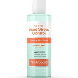Nước hoa hồng Neutrogena Oil Free Acne Stress Control Triple Action Toner điều trị mụn trứng cá