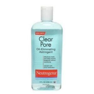Neutrogena Clear Pore Oil Eliminating Astringent Toner sử dụng cho da dầu